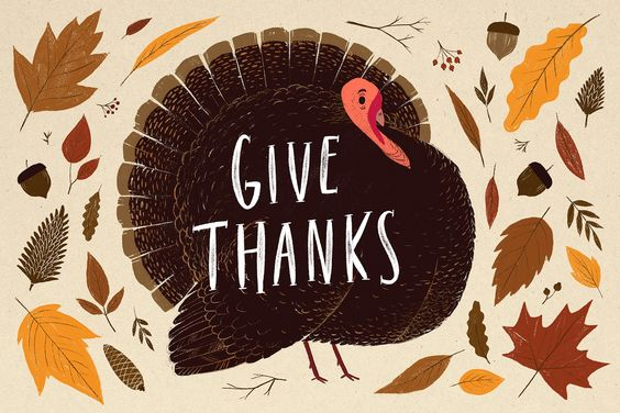 'Tis the seanson to be thankful! 感恩的季節